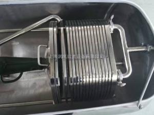 直銷可移動板框過濾機 食用油過濾機 帶保護罩板框過濾機