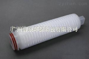 PTFE微孔膜折叠滤芯聚四氟乙烯滤芯
