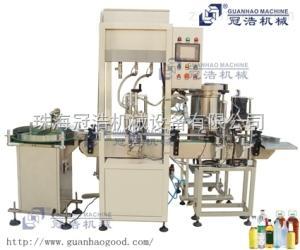 GH-96-YU珠海冠浩全自動液體灌裝機眼藥水灌裝機