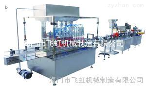 KGXD型消毒液灌装旋盖贴标机组