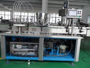 TM--FM-300安徽廠家生產浩悅TM--FM-300型小劑量5-30ml全自動多頭灌裝機