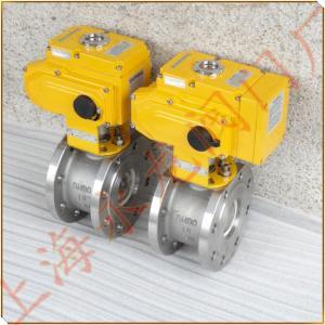 YL品牌電動調節閥-上海電動薄型調節球閥