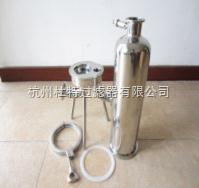 DTY单芯不锈钢液体过滤器厂家