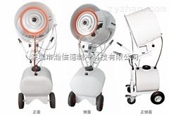 500MM手推式移动降温喷雾风扇 喷雾工业风扇厂家 工业喷雾扇