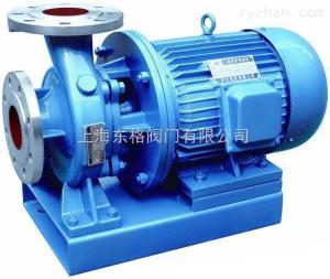 進口不銹鋼臥式管道離心泵