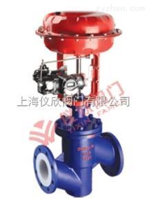 ZJSPF46气动薄膜衬氟调节阀