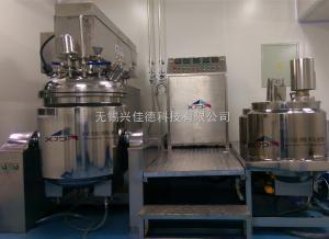XDJR-250L兴佳德真空乳化罐混合搅拌罐