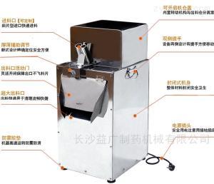 LD-120白术立式中药切片机