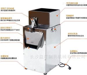LD-120白術立式中藥切片機
