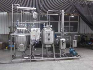 WZⅡ-500 WZⅡ-1000广东50L中药提取浓缩机组 广东中药提取浓缩整套设备 中药浓缩机