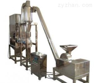WF大型萬能粉碎機組 脈沖除塵 旋風出料 水循環冷卻系統 GMP標準