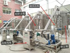 WFJ厂家直销WFJ-北沙参半夏中药材超微粉碎机