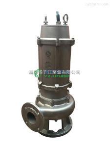 150WQ100-40-30304全不锈钢污水泵耐高温潜水泵耐腐蚀耐酸碱电镀化工
