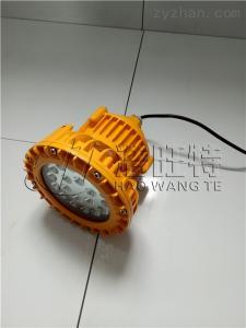 黑龍江大慶化工廠護欄式30W防爆LED燈頭HBND-A8014-I-40W平臺彎桿式防爆LED燈