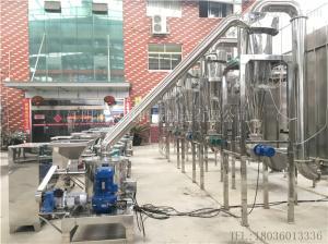 WFJ304不锈钢食品中药化工专用超微粉碎机组