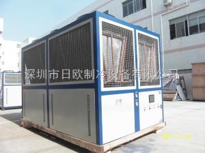 RO-195AS日欧风冷式螺杆冷水机 不锈钢工业冷水机