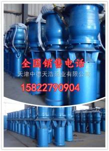 QSZ防汛抗旱大流量排水潛水軸流泵型號大全