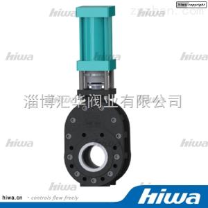 四川遂寧短型倉泵氣力輸灰系統專用陶瓷雙閘板閥