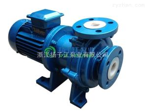 CQB-F型cqb氟合金磁力泵 钢衬四氟磁力泵 卧式氟塑料泵CQB65-50-16