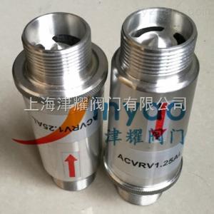 RV-02鋁合金鼓風機釋壓閥RV-01