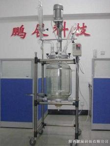 SF-30D鹏展现货供应30L双层玻璃反应釜——中科院首选品牌