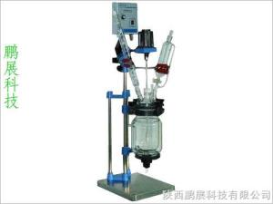 SF-1D/2D/3D3L雙層玻璃反應釜|玻璃反應器