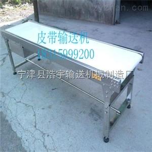 GI-2合肥小型皮帶輸送機 藥品綠色皮帶輸送機價格/型號 鋁型材框架 浩宇