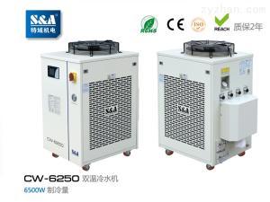 CW-6250特域雙溫冷水機用于冷卻激光清洗機