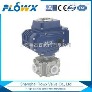 Q16F-1000PSI弗雷西FLOWX氣動1000PSI四通球閥