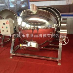 klf-500l卤肉夹层锅,酱牛肉蒸煮锅