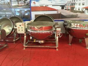 klf-100l小型蒸煮锅,肉制品加工设备