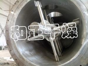 ZKG-400生物菌劑專用烘干機-耙式干燥機