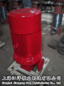 立式管道多級離心泵XBD60/16-80L電動、上海江洋、