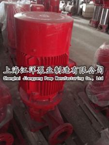 立式管道多級離心泵XBD80/11-80L鑄鐵、上海江洋、