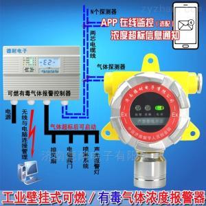 壓縮機房可燃氣體報警儀,燃氣濃度報警器調試和安裝