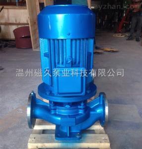 ISG系列低噪音立式管道泵離心泵