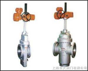 防爆電動平板閘閥 進口防爆電動平板閘閥 結構尺寸