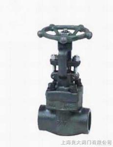Z61Y鍛鋼承插焊閘閥 進口鍛鋼承插焊閘閥 結構尺寸