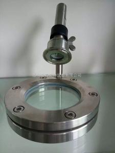 ISO温州卫生级不锈钢焊接四通球形带灯视镜