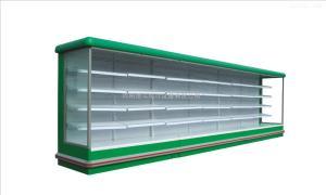 超市便利店展示柜 奶制品保鲜冷藏柜 水果保鲜风幕柜