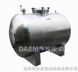 臥式儲罐/臥式貯罐/蒸餾水儲罐