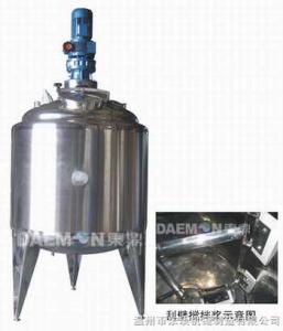 不銹鋼刮壁攪拌罐/真空配料罐