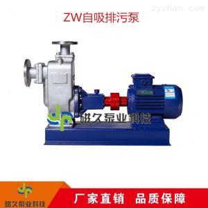 排污泵工厂供应自吸排污泵无堵塞式ZW型