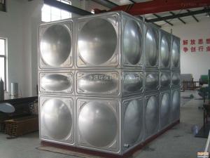 1500*1500*1500江苏供应百汇净源牌不锈钢方形水箱-供水设备