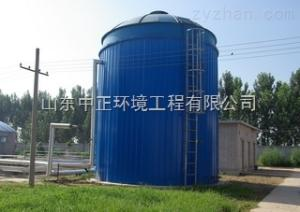 沼氣發酵罐和沼氣池  沼氣發酵罐工藝流程圖