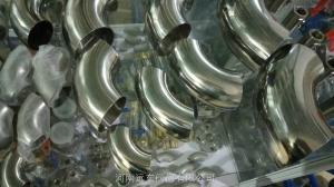 郑州不锈钢卫生级焊接弯头口径51
