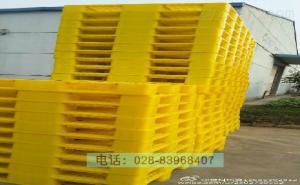 待撿產品托盤待撿藥黃色成品塑料托盤藥廠藥品倉庫分區托盤