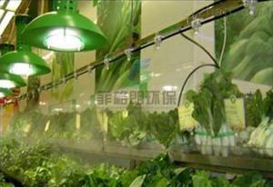 农贸批发市场蔬果高压微雾加湿厂家