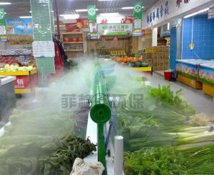 贺州农贸批发市场蔬果高压微雾加湿厂家