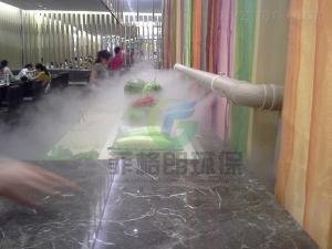 上海农贸批发市场蔬果高压微雾加湿工程